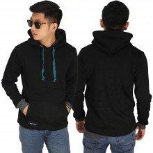 Jacket Jumper Hoodie Basic Black