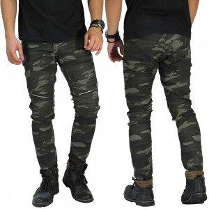 Biker Chino Camouflage Army