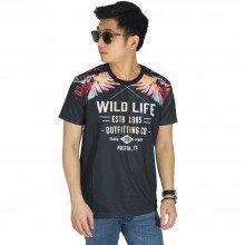 Kaos Printing Wild Life Parrot