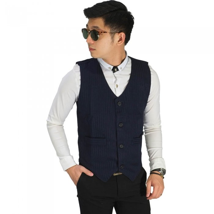 Vest Formal Basic Navy