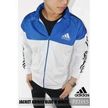 Jacket Adidas Blue n White