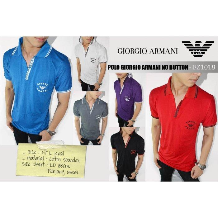 Polo Giorgio Armani No Button 8b8e4e6022
