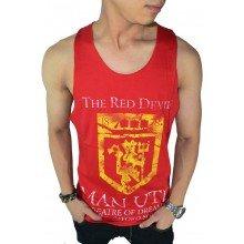 Mens Tank Top/Singlet MU Red Devil