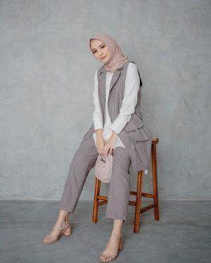 inspirasi gaya hijab di instagram megaiskanti