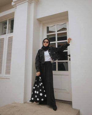 inspirasi gaya hijab di instagram nisa cookie