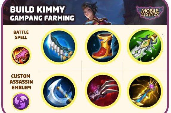 Build Kimmy Khusus Farming