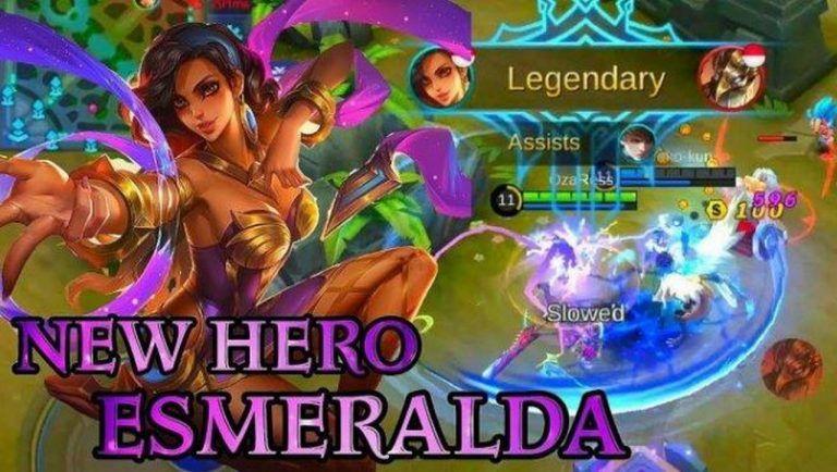 cara counter hero esmeralda