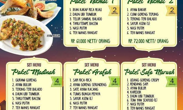 koki sunda tempat bukber di pekanbaru