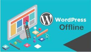 wordpress offline
