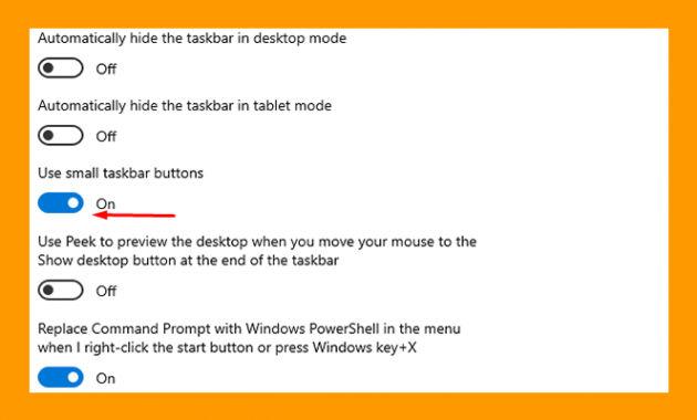 cara mengecilkan icon di windows 10