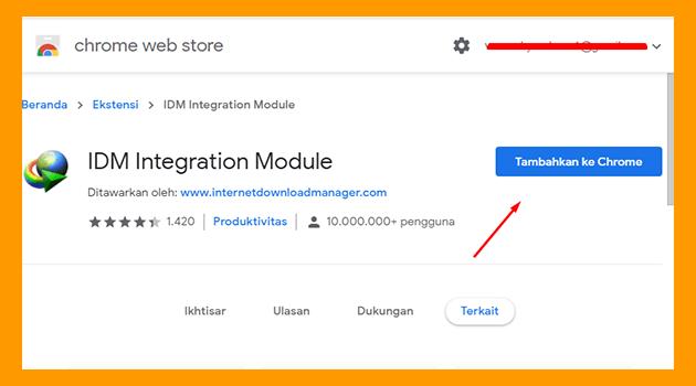 Cara Memasang IDM di Google Chrome Mudah Hanya Install Add-Ons