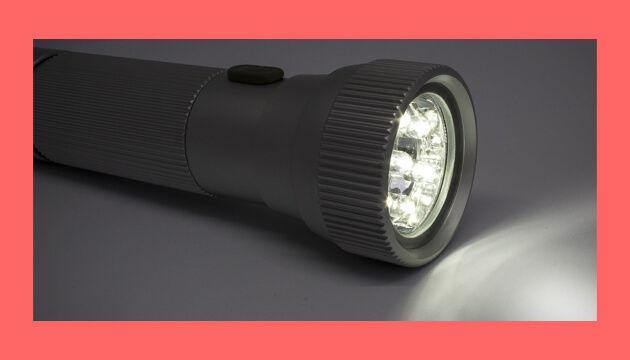 cara melumpuhkan kamera pengawas menggunakan lampu led