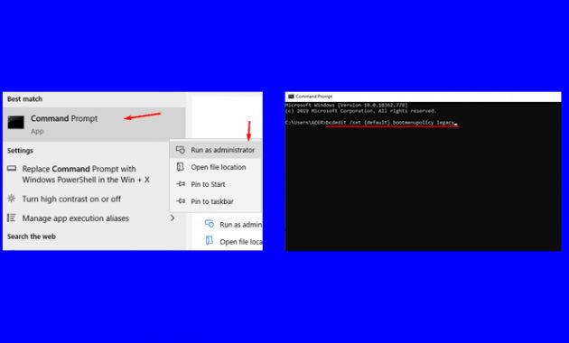 cara masuk safe mode windows 10 melalui BIOS