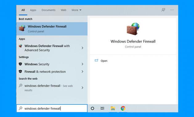 cara blokir software menggunakan firewall