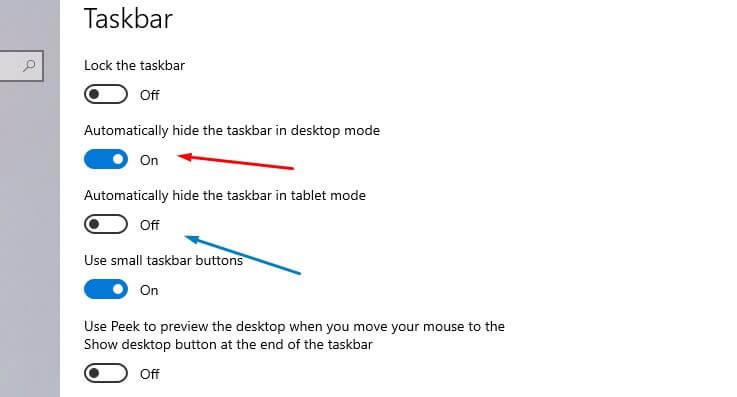 cara menyembunyikan taskbar windows