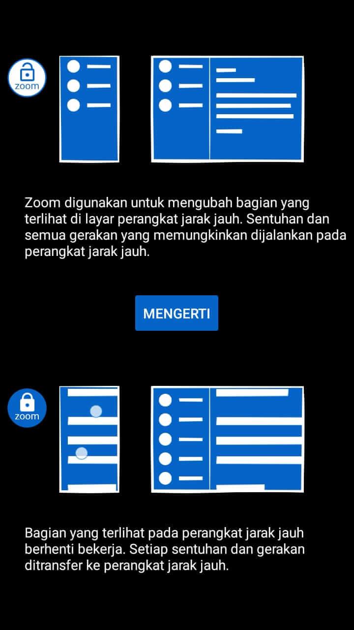 cara menggunakan Teamviewer dari android ke android