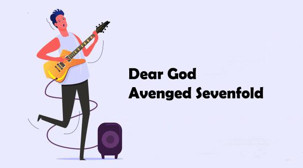 avenged sevenfold - chord gitar dear god