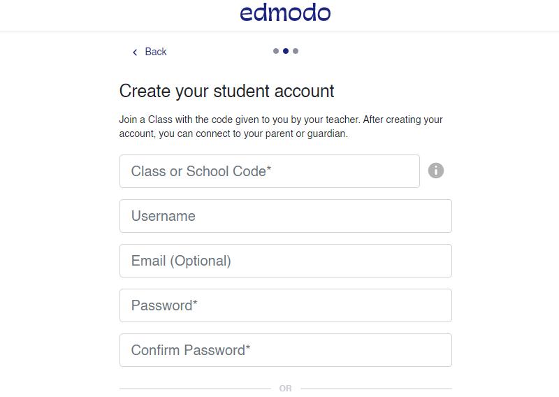 formulir cara mendaftar edmodo siswa mahasiswa
