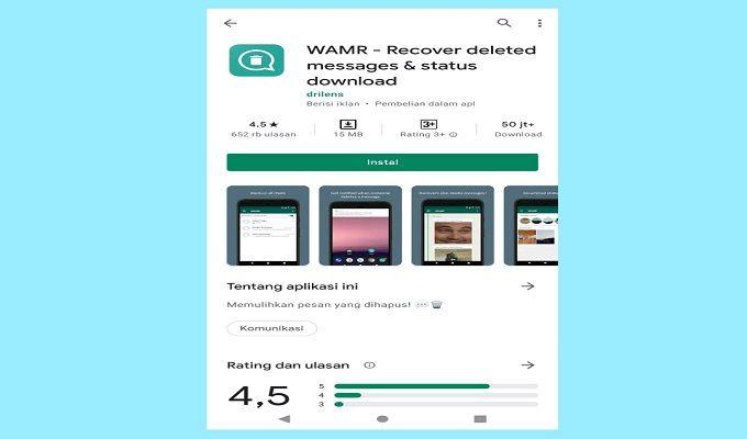 aplikasi WARM