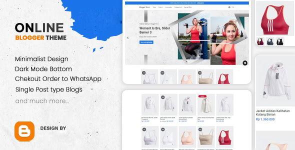 BStores Premium Ecommerce Blogger Template