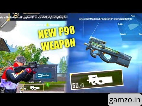 Pubg mobile: everything about the new smg p90