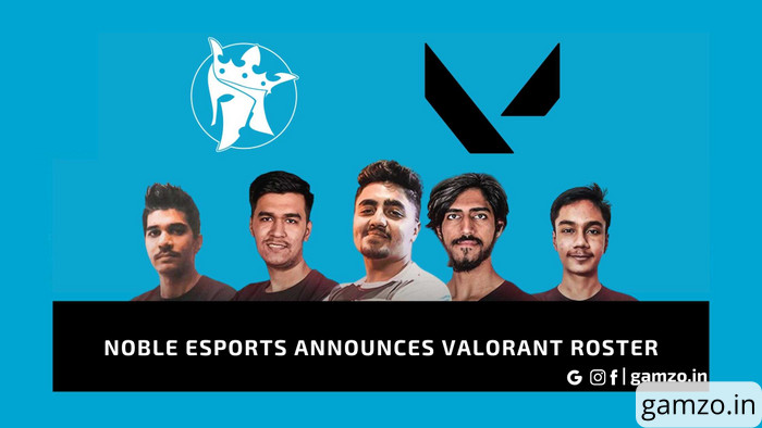 Noble esports gets valorant lineup in south asia, 'psy' is the captain