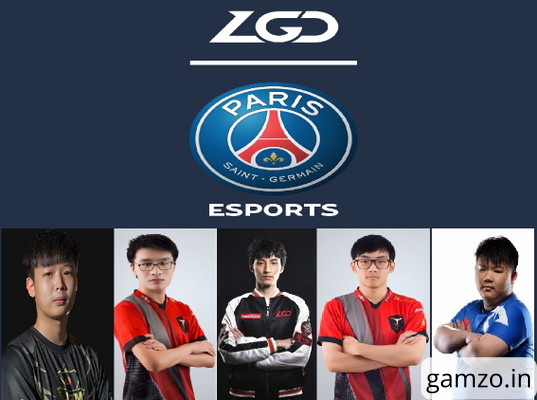 Psg. Lgd new roster paintjob