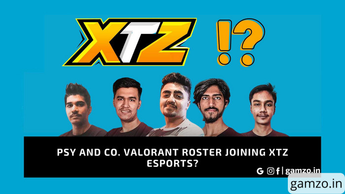Psy and co. Valorant roster joining XTZ Esports?