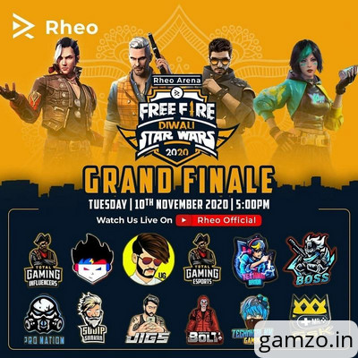 Aaction bolt wins free fire diwali star wars 2020 tournament by rheo, overall standings inside