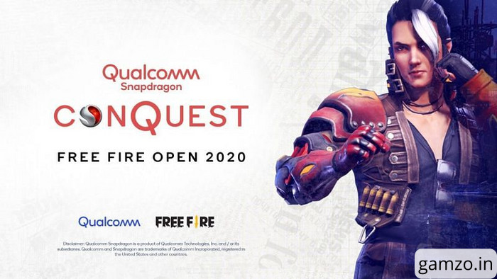 Qualcomm announces free fire tournament in india | total prize pool of 50,00,000 inr