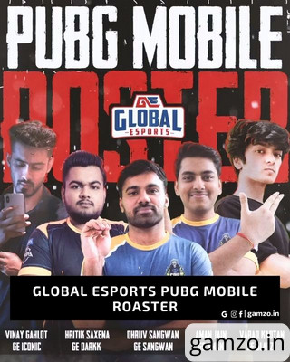 Global Esports PUBG Mobile Roaster