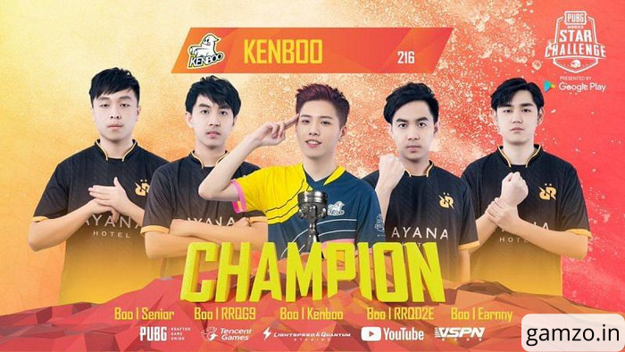 KENBOO + RRQ ATHENA had won the PMSC 2019 championship.