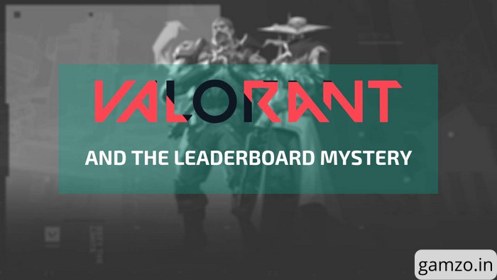 Valorant and the leaderboard mystery