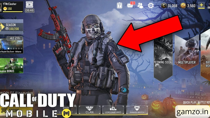 How to win free ghost-stealth in cod mobile? 3 steps.