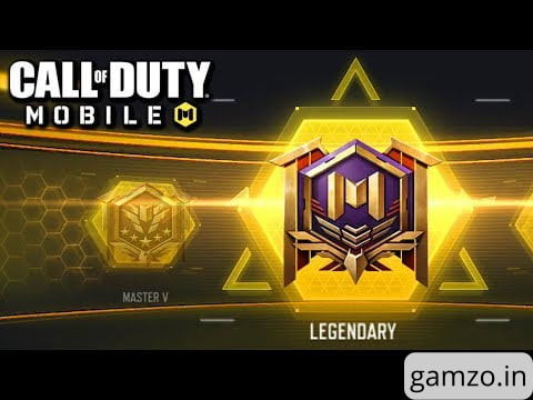 Cod mobile rank level 1- 6501+, lowest and highest