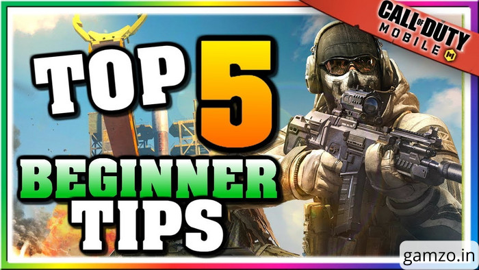 Cod mobile 5 best tips for beginners.