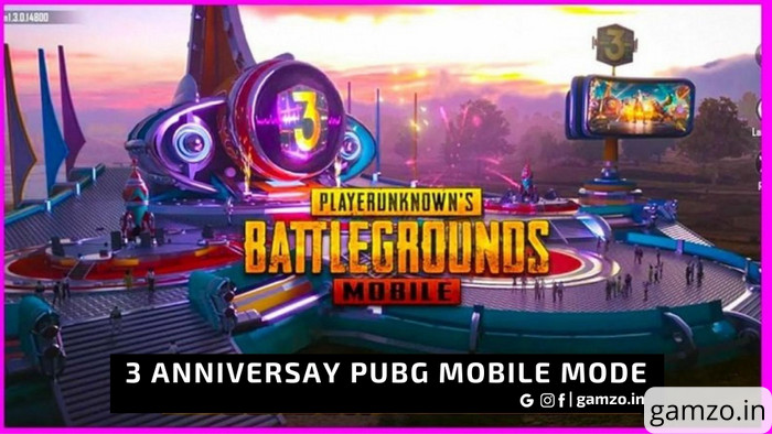 Everything about 3rd anniversary pubg mobile mode