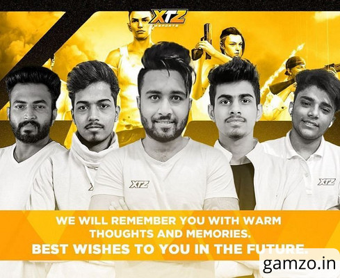 Xtz esports disbands free fire roster