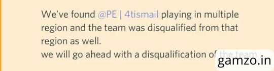 Portal esports' 4tismail was playing from multiple regions