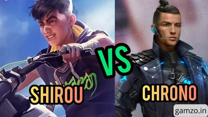 Chrono vs shirou in free fire, who is better?