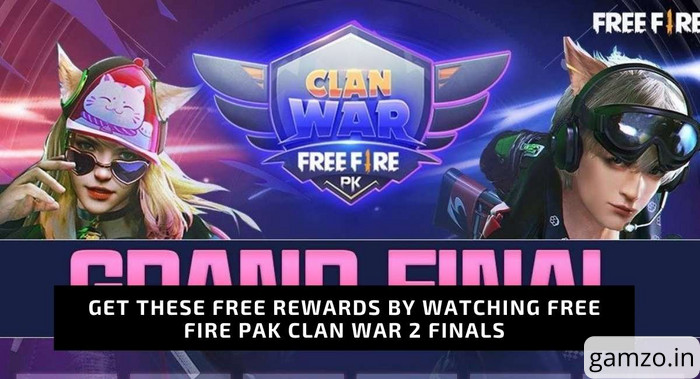 Free fire pakistan clan war season 2 finals: rewards, teams, watch live
