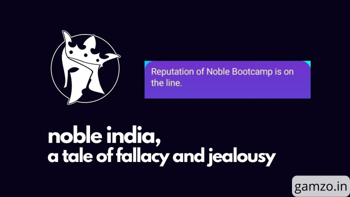 Noble india, a tale of fallacy and jealousy