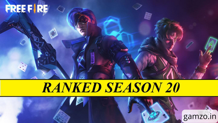 Rank reset in free fire for season 20