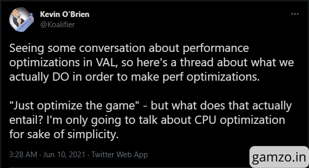 Riot dev explains what goes behind optimizing a game like valorant