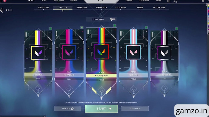 How to get the valorant pride player cards