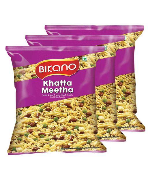 Bikano Khatta Meetha Mixture (400, Pack of 3)