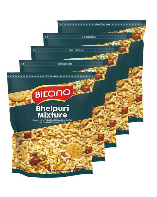Bikano Bhelpuri  (200gm, Pack of 5)