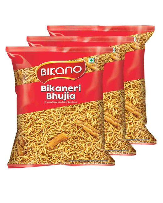 Bikano Bikaneri Bhujia Sev (400, Pack of 3)