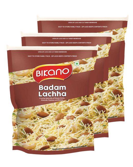 Bikano Badam Lachha Mixture (400, Pack of 3)