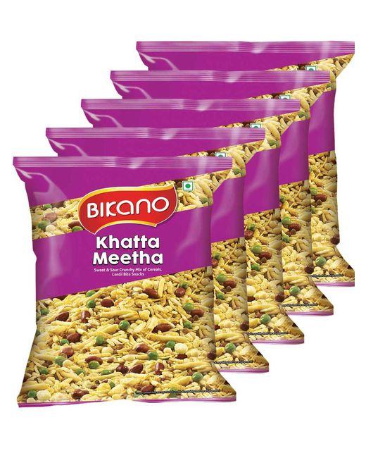 Bikano Khatta Meetha Mixture (200, Pack of 5)